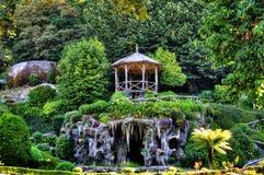 El parque de Bom Jesús hace el santuario de Monte fotografía de archivo