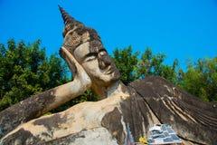El parque de Buda en Vientián Imagen de archivo libre de regalías