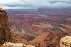 El parque de estado del punto del caballo muerto, Utah fotografía de archivo libre de regalías