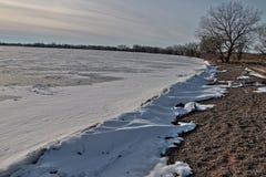 El parque de estado de los lagos oakwood está en el estado de Dakota del Sur cerca de Brookings fotografía de archivo