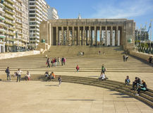 El parque de la bandera nacional en Rosario imágenes de archivo libres de regalías