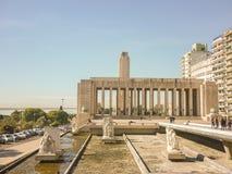 El parque de la bandera nacional en Rosario fotos de archivo