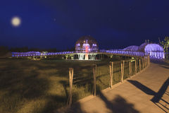 El parque de la costa de Paposogan de la marca de tierra en Taitung Imagenes de archivo