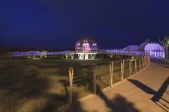 El parque de la costa de Paposogan de la marca de tierra en Taitung Imagen de archivo