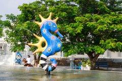 El parque de la diversión y de las compras en Cha-es Fotos de archivo