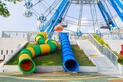El parque de la diversión y de las compras en Cha-es Imagenes de archivo