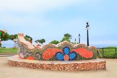 El Parque del Amor, в Miraflores, Лима, Перу Стоковая Фотография RF