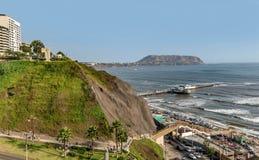 El Parque del Amor, amants se garent, Miraflores, Lima, Pérou Photo libre de droits