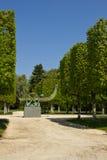 El parque del castillo de Rambouillet, Francia foto de archivo