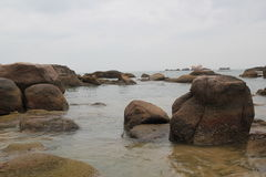 El parque del extremo del mundo en Hainan imágenes de archivo libres de regalías
