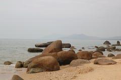El parque del extremo del mundo en Hainan fotografía de archivo libre de regalías