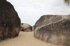 El parque del extremo del mundo en Hainan fotos de archivo libres de regalías