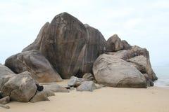 El parque del extremo del mundo en Hainan foto de archivo