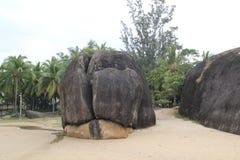 El parque del extremo del mundo en Hainan imagenes de archivo
