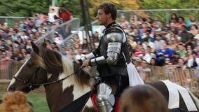 El parque medieval NYC 100 de Tryon del fuerte del festival 2014 @ Foto de archivo libre de regalías