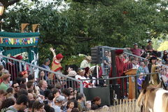 El parque medieval NYC 102 de Tryon del fuerte del festival 2014 @ Foto de archivo