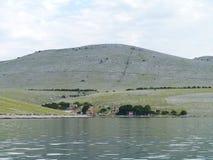 El parque nacional croata de Kornati Fotografía de archivo