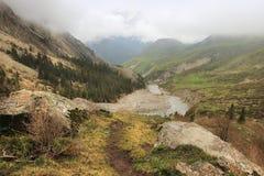 El parque nacional de Archa del Ala en mayo, Kirguistán Imágenes de archivo libres de regalías