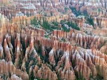 Paisaje del parque nacional del barranco de Bryce, Utah, los E.E.U.U. Imagen de archivo