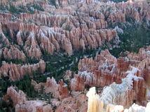La naturaleza es asombrosa - parque nacional del barranco de Bryce Foto de archivo