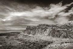 El parque nacional del filón del capitolio está en desierto meridional del ` s de Utah Foto de archivo libre de regalías