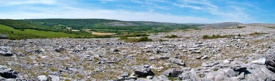 El parque nacional Irlanda del burren Fotos de archivo libres de regalías