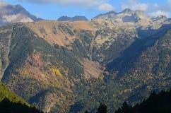 El parque natural de Posets-Maladeta en el macizo de Posets, ³ n, español los Pirineos de Aragà fotos de archivo libres de regalías