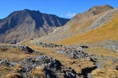 El parque natural de Posets-Maladeta en el macizo de Posets, ³ n, español los Pirineos de Aragà foto de archivo libre de regalías