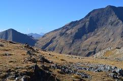 El parque natural de Posets-Maladeta en el macizo de Posets, ³ n, español los Pirineos de Aragà imagen de archivo