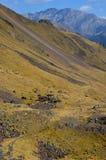 El parque natural de Posets-Maladeta en el macizo de Posets, ³ n, español los Pirineos de Aragà fotografía de archivo libre de regalías