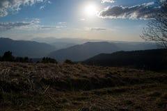 El parque natural grande de Thach de la montaña Fotos de archivo libres de regalías