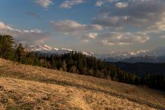 El parque natural grande de Thach de la montaña Imágenes de archivo libres de regalías