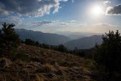 El parque natural grande de Thach de la montaña Imagen de archivo libre de regalías