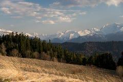 El parque natural grande de Thach de la montaña Fotografía de archivo
