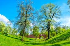 El parque pintoresco de Tsaritsyno Imagen de archivo libre de regalías