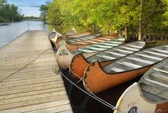 El parque Rivière-DES-Mille-Îles Fotos de archivo