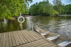 El parque Rivière-DES-Mille-ÃŽles Imagen de archivo libre de regalías