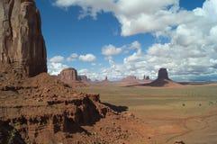El parque tribal de Navajo del valle del monumento, los E.E.U.U. fotos de archivo