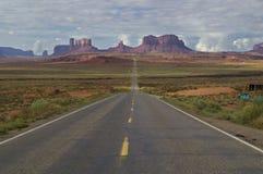 El parque tribal de Navajo del valle del monumento, Utah, los E.E.U.U. imagen de archivo libre de regalías