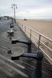 El parquear en la playa Imagen de archivo libre de regalías