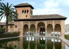 El Partal of the Alhambra. Granada, Andalusia, Spain Stock Images