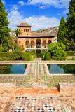 El Partal of the Alhambra de Granada Stock Images