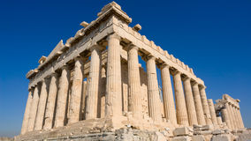 El Parthenon Imagen de archivo