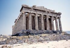 El Parthenon foto de archivo libre de regalías