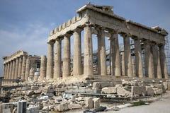 El Parthenon en Atenas Grecia Imagen de archivo