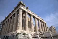 El Parthenon en Atenas Grecia Fotos de archivo