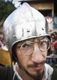 El participante se prepara para la batalla Foto de archivo