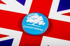 El partido conservador fotos de archivo
