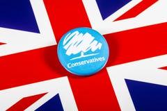 El partido conservador fotografía de archivo