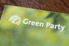 El Partido Verde foto de archivo libre de regalías